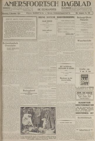 Amersfoortsch Dagblad / De Eemlander 1931-12-09
