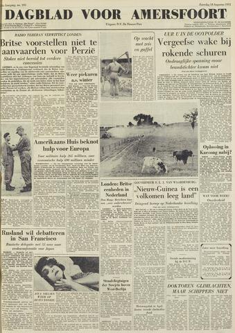 Dagblad voor Amersfoort 1951-08-18