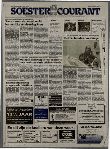Soester Courant 2000-10-04