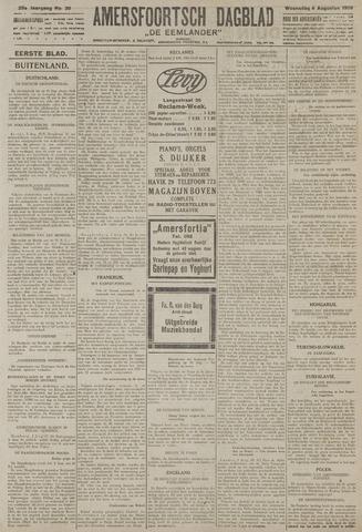 Amersfoortsch Dagblad / De Eemlander 1926-08-04