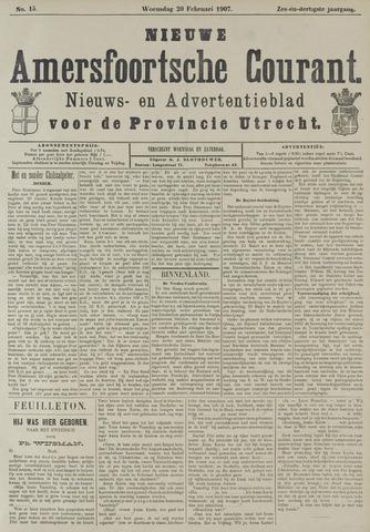 Nieuwe Amersfoortsche Courant 1907-02-20