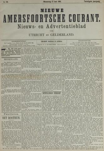 Nieuwe Amersfoortsche Courant 1891-06-17