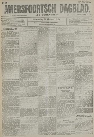 Amersfoortsch Dagblad / De Eemlander 1915-10-20