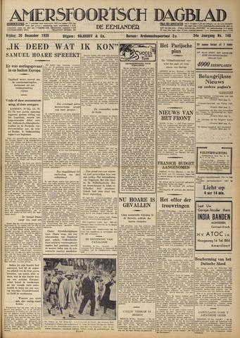 Amersfoortsch Dagblad / De Eemlander 1935-12-20