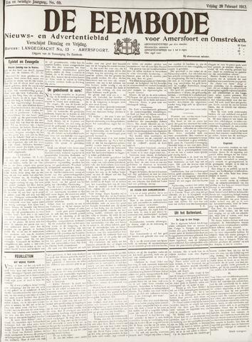De Eembode 1913-02-28