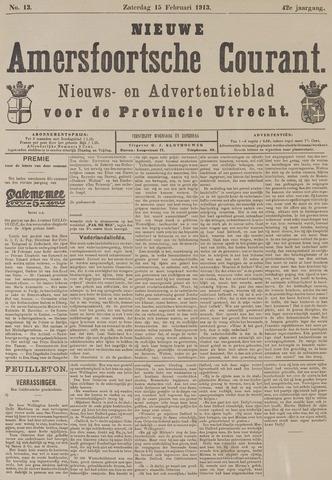 Nieuwe Amersfoortsche Courant 1913-02-15