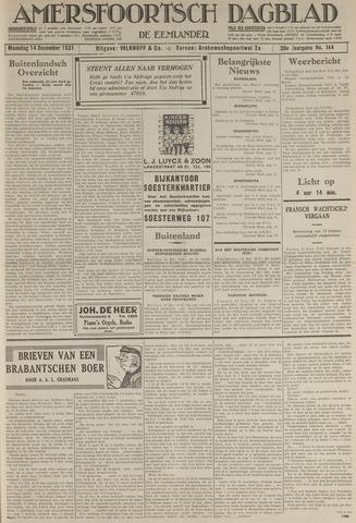 Amersfoortsch Dagblad / De Eemlander 1931-12-14
