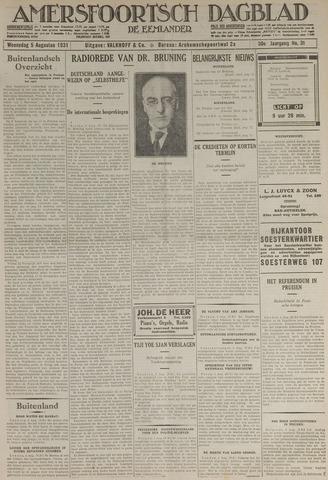 Amersfoortsch Dagblad / De Eemlander 1931-08-05