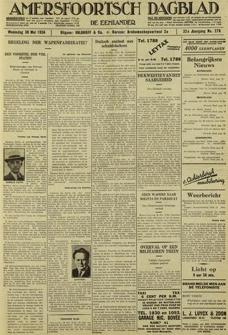 Amersfoortsch Dagblad / De Eemlander 1934-05-30