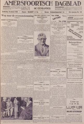 Amersfoortsch Dagblad / De Eemlander 1935-01-10