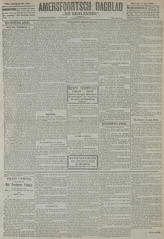 Amersfoortsch Dagblad / De Eemlander 1922-04-03