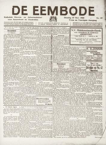 De Eembode 1928-11-27