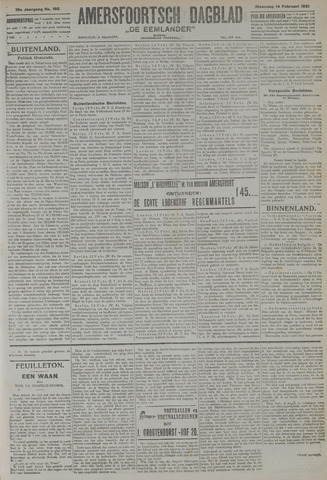 Amersfoortsch Dagblad / De Eemlander 1921-02-14