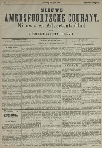 Nieuwe Amersfoortsche Courant 1888-04-28