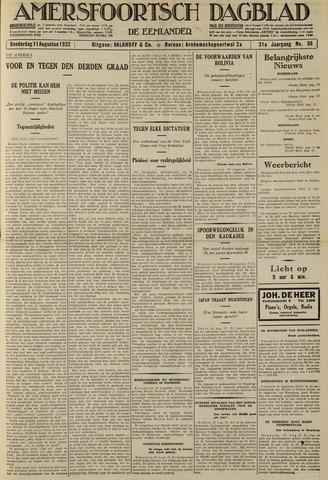 Amersfoortsch Dagblad / De Eemlander 1932-08-11