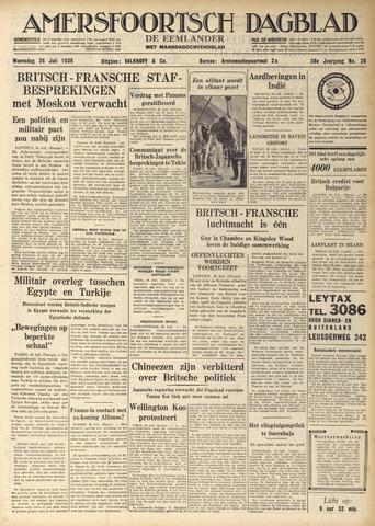 Amersfoortsch Dagblad / De Eemlander 1939-07-26