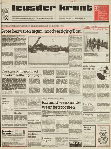 Leusder Krant 1987-06-23