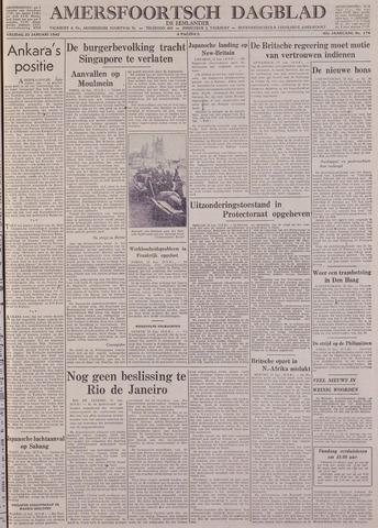Amersfoortsch Dagblad / De Eemlander 1942-01-23