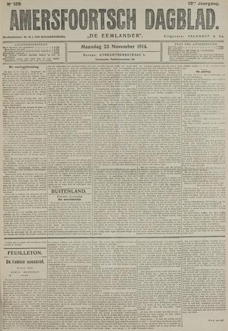 Amersfoortsch Dagblad / De Eemlander 1914-11-23