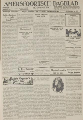 Amersfoortsch Dagblad / De Eemlander 1931-01-08