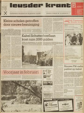 Leusder Krant 1989-02-22