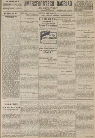 Amersfoortsch Dagblad / De Eemlander 1927-07-07