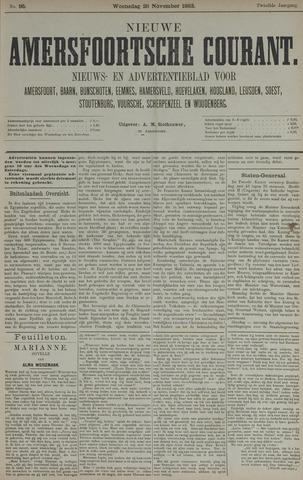 Nieuwe Amersfoortsche Courant 1883-11-28