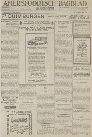 Amersfoortsch Dagblad / De Eemlander 1929-02-23