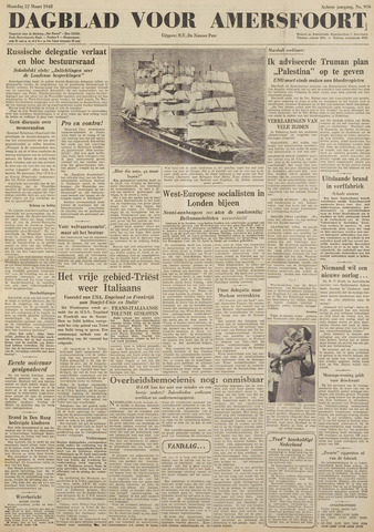 Dagblad voor Amersfoort 1948-03-22