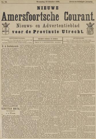 Nieuwe Amersfoortsche Courant 1898-10-19