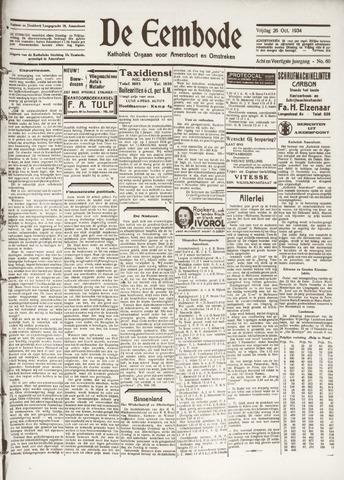 De Eembode 1934-10-26