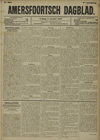Amersfoortsch Dagblad 1908-01-17