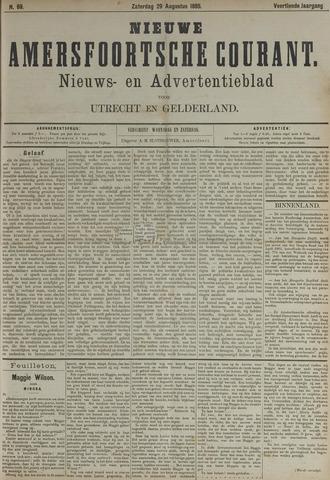 Nieuwe Amersfoortsche Courant 1885-08-29
