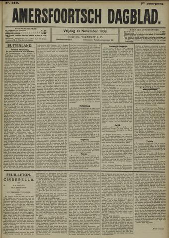 Amersfoortsch Dagblad 1908-11-13