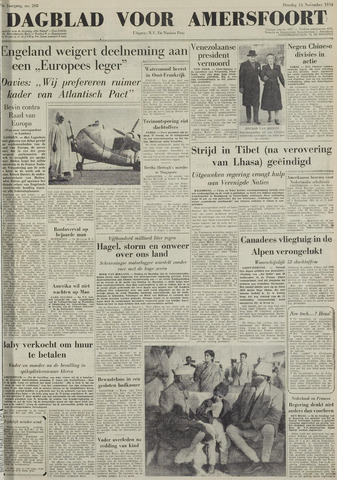 Dagblad voor Amersfoort 1950-11-14