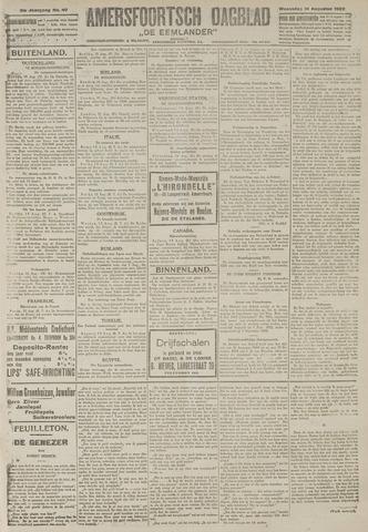 Amersfoortsch Dagblad / De Eemlander 1922-08-16