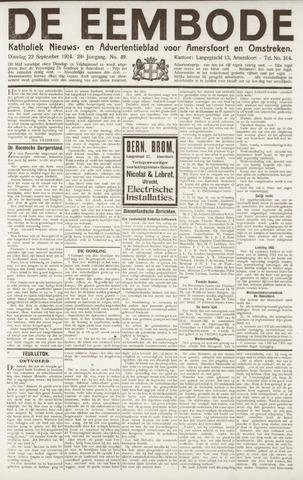 De Eembode 1914-09-22