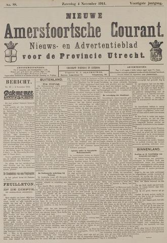 Nieuwe Amersfoortsche Courant 1911-11-04