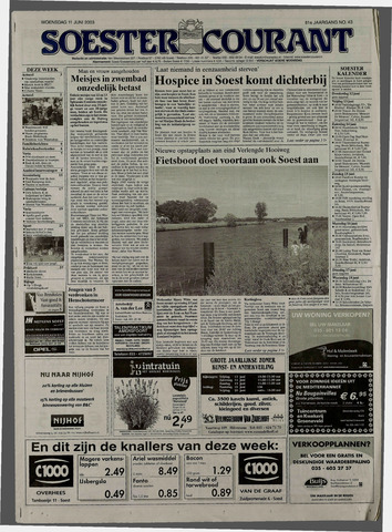 Soester Courant 2003-06-11