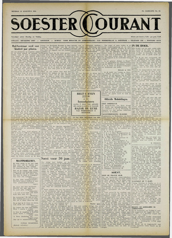 Soester Courant 1955-08-23