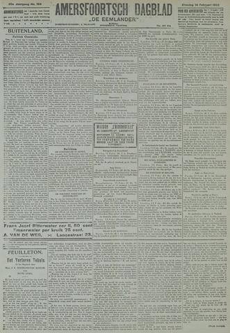 Amersfoortsch Dagblad / De Eemlander 1922-02-14