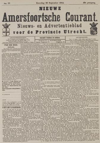 Nieuwe Amersfoortsche Courant 1914-09-26