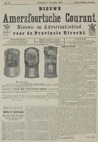 Nieuwe Amersfoortsche Courant 1907-11-27