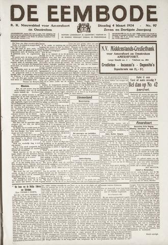 De Eembode 1924-03-04