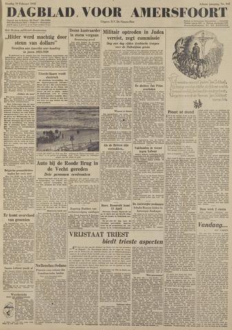 Dagblad voor Amersfoort 1948-02-10