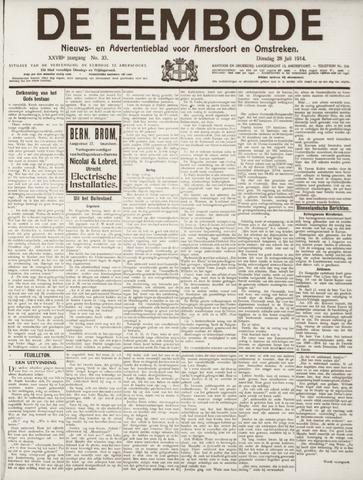 De Eembode 1914-07-28