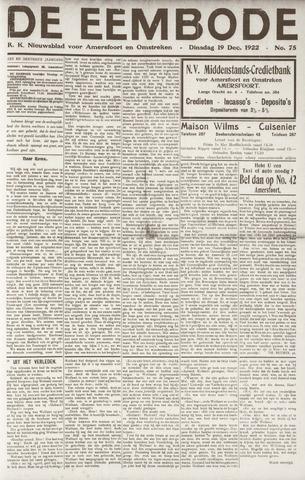 De Eembode 1922-12-19