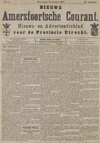 Nieuwe Amersfoortsche Courant 1918-01-23