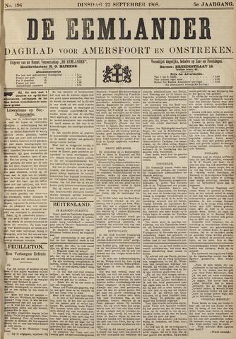 De Eemlander 1908-09-22