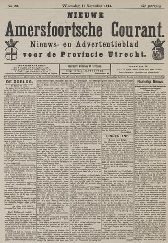 Nieuwe Amersfoortsche Courant 1914-11-11